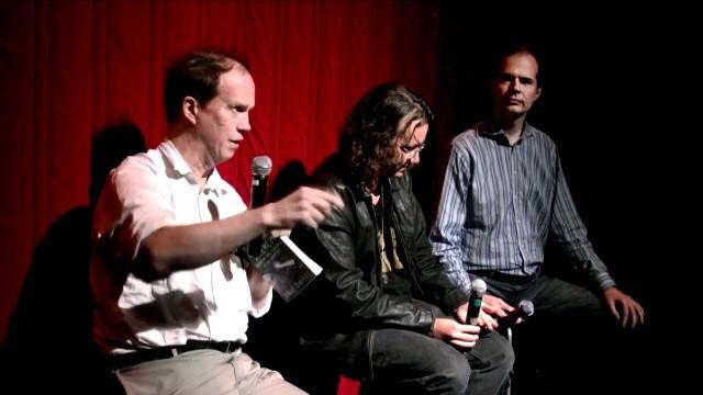 Panel: Hugo de Garis, Ben Goertzel, Steve Omohundro – Transcendent Man Premiere