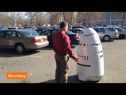 Crime-Fighting Robotic Guard… for $6.25 an Hour