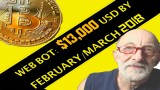 Bitcoin $13,000 Feb/Mar 2018  (Web Bot prediction)
